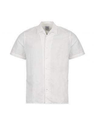 paul smith short sleeve shirt M2R 0114R A20641 02 cream