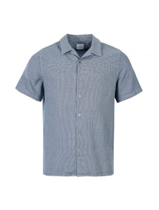Paul Smith Short Sleeve Shirt M2R 114RM A20633 49 Navy