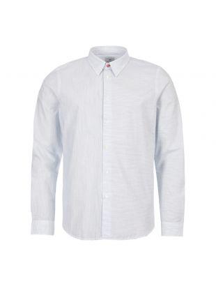Paul Smith Shirt Stripe M2R 149T A20585 42 White / Blue