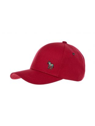 Paul Smith Cap Zebra | M2A 987C BZEBRA 25 Red