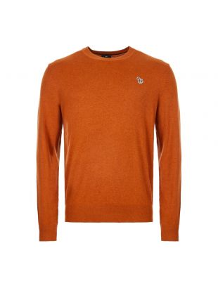 Paul Smith Knitted Jumper M2R 458T A20720 65 Hazel / Rust