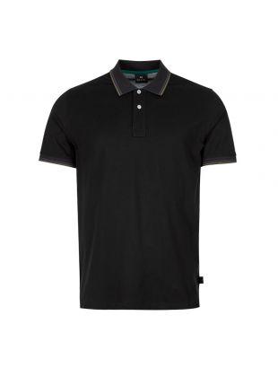 paul smith polo shirt M2R 151LT C20069 79 black