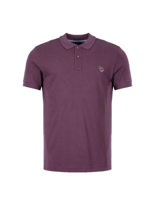 Paul Smith Polo Shirt   M2R 534LZ C20067 54 Aubergine