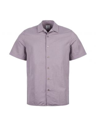 paul smith short sleeve shirt M2R 0114R A20641 53 purple