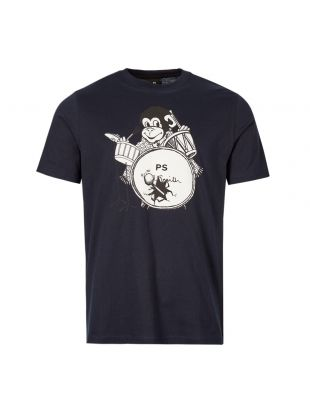 Paul Smith T-Shirt M2R 011R AP1530 49 Navy