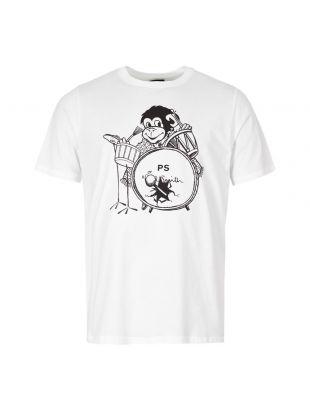 Paul Smith T-Shirt Monkey M2R 011R AP1530 01 White