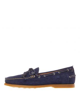 ralph lauren millard boat shoes 80370060 002 navy