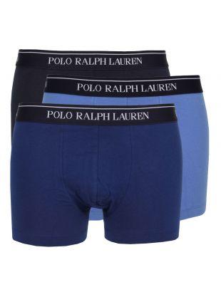 Ralph Lauren 3 Pack Boxers in Blue Denim 251U3TRK BSHC2 A4BDT