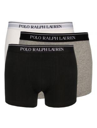Ralph Lauren 3 Pack Boxers in White Heather 251U3TRK BSHC2 A9933