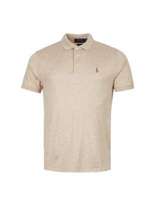 Ralph Lauren Polo Shirt 710652578 107 Beige