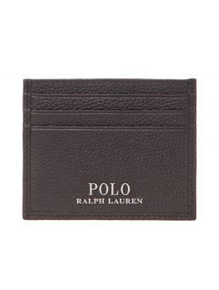 Ralph Lauren Card Holder Wallet 405710795 002 Brown
