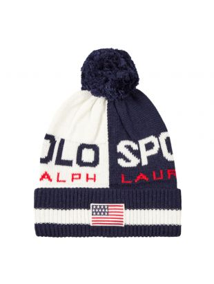 Ralph Lauren Bobble Hat | 449775571 001 Chic Cream