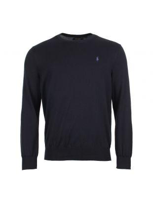 Ralph Lauren Crew Neck Sweater 710683940 Navy