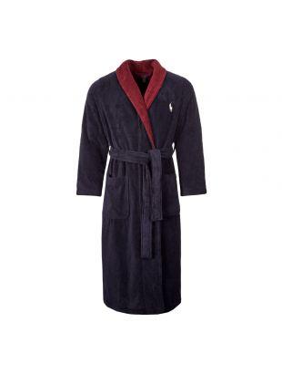 Ralph Lauren Shawl Robe |714753012|001Navy | Aphrodite Clothing