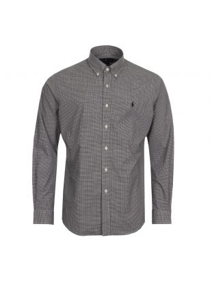 Ralph Lauren Shirt Gingham Black / White