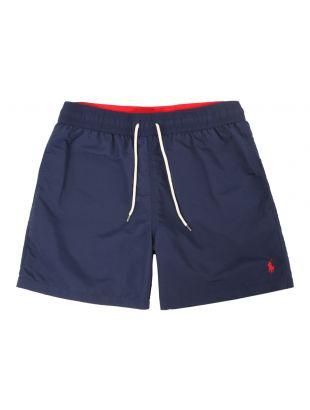 Polo Ralph Lauren Hawaiian Swimshorts 7710659017 004 In Navy