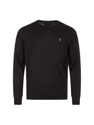 Ralph Lauren Sweater Crew Neck | 710714346 001 Black