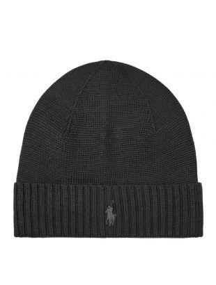 Ralph Lauren Hat Knitted | 710761415 003 Black