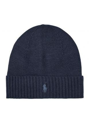 Ralph Lauren Hat Knitted | 710761415 002 Navy