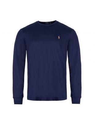 ralph lauren long sleeve t-shirt 710760121 003 navy