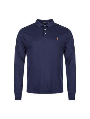 Ralph Lauren Long Sleeve Polo Shirt 710743841 001 Navy