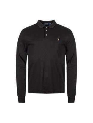 Ralph Lauren Long Sleeve Polo Shirt 710743841 002 Black