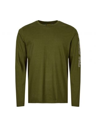 Ralph Lauren Long Sleeve T-Shirt 714757467 005 Olive