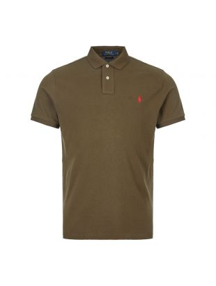 Ralph Lauren Polo Shirt 710680784 096 Olive