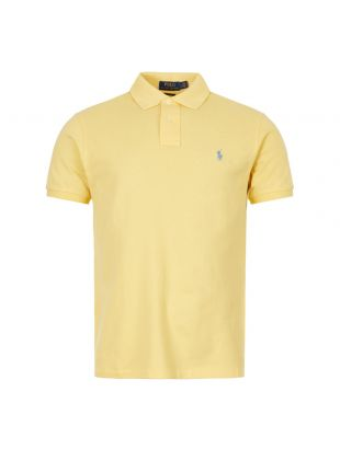 Ralph Lauren Polo Shirt 710536856 199 Yellow
