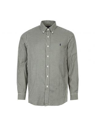 Shirt - Green / White Check