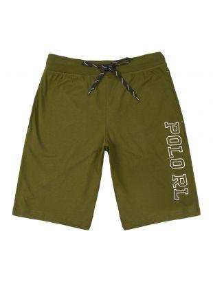 ralph lauren sleepwear slim shorts 714730608 002 green