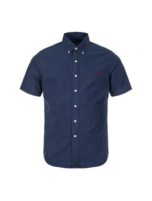 Ralph Lauren Short Sleeve Shirt Sports | 710755879 004 Navy