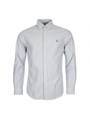 Ralph Lauren Oxford Shirt Striped A04W3L3P C5179C41D6 Blue