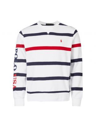 Ralph Lauren Sweater | 710743904 002 White / Navy / Red