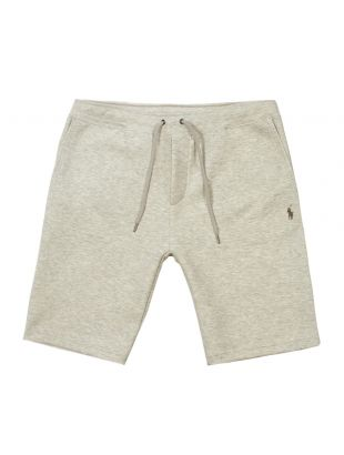 ralph lauren sweat shorts 710691243 005 grey heather