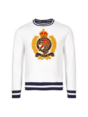 Ralph Lauren Sweatshirt 710740901 001 White