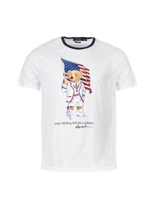 ralph lauren t-shirt 710755847 001 white