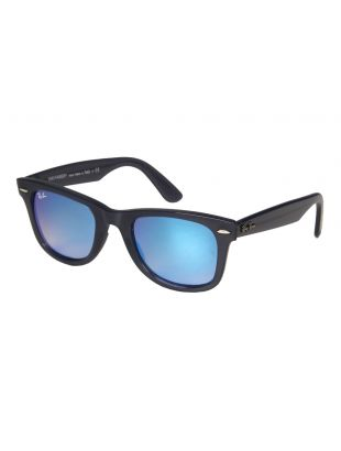 Ray Ban Wayfarer Sunglasses | RB4340 62324050 Blue Mirrored