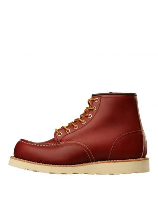 Red Wing Moc Toe Boots 6 Oro Russet Portage 8131