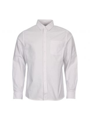 Saturdays NYC In Crosby Oxford Shirt AA0020-CR04-S9900 White