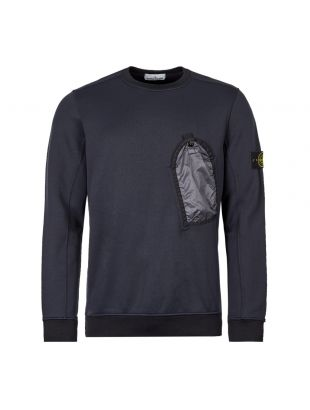 Stone Island Sweatshirt Pocket 711564046 V0020 Navy