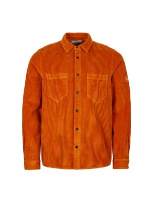 Stone Island Corduroy Shirt 711511209 V0032 Orange