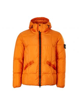 Stone IslandJacket Crinkle Reps Garment Dyed 711540223 V0032 Orange