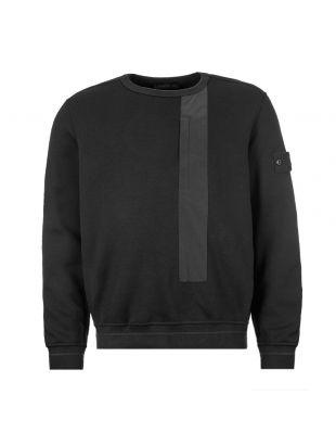 stone island shadow project sweatshirt 7115650F3 V0029 black