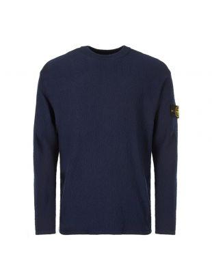 stone island knitted sweatshirt 7015524D5 V0028 navy