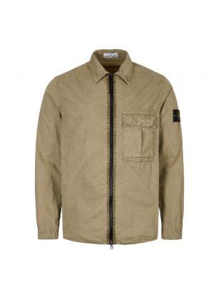 Stone Island Overshirt | 7115117WN V0168 Khaki