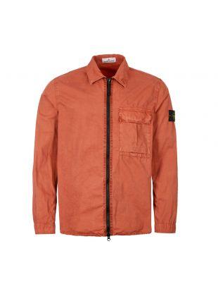 Stone Island Zip Overshirt 7115115WN V0113 Rust