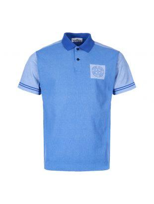 stone island polo shirt 701522834 V0043 blue