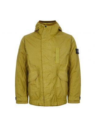 Stone Island Reflective Weave Ripstop TC Jacket   711543999 V0034 Green