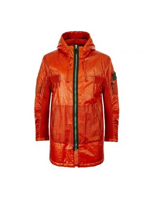 Stone Island Shadow Project Contour Parka Dual Grid Nylon | 711940203 V0013 Rust
